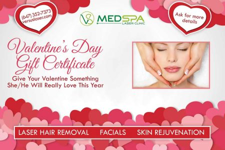 Med Spa Valentine's Day Gift Certificate