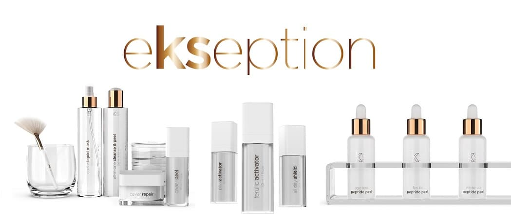 Ekseption peels and skin care