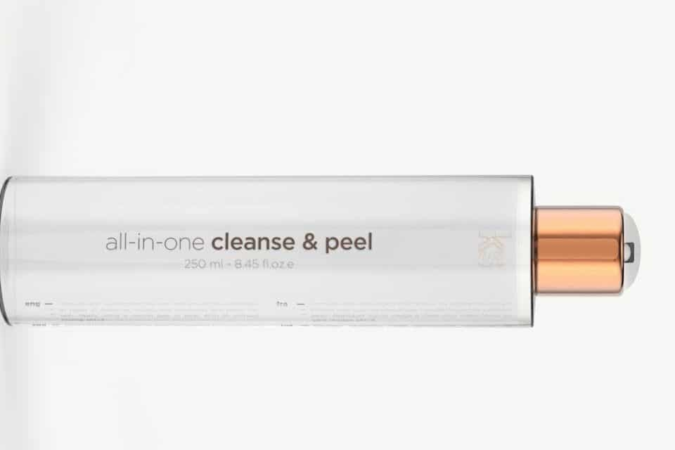 all-in-one cleanse & peel