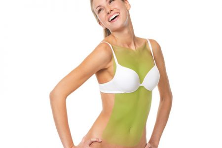 laser hair removal abdomen and chest women