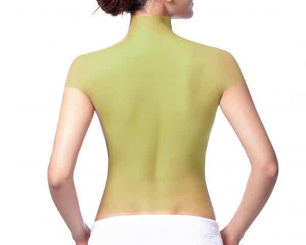 Laser Hair Removal for Women, Full Back, Shoulder and Back of Neck