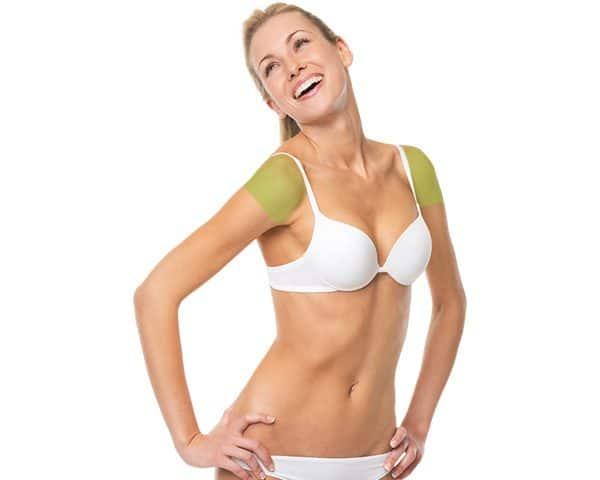 Laser Hair Removal for Women, Shoulders
