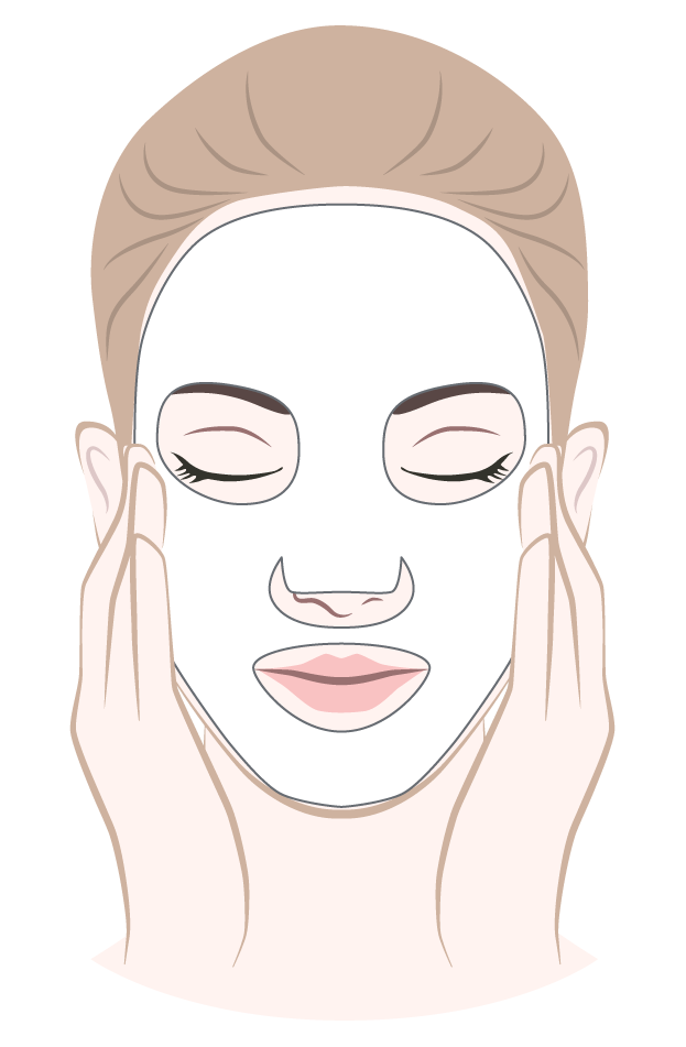 dermaroller-mask-application