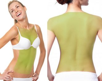 Laser Hair Removal for Women, Full Back, Chest, Abdomen and Shoulders