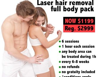 Laser Hair Removal Full Body Package