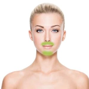 Upper Lip and Chin Laser Hair Removal