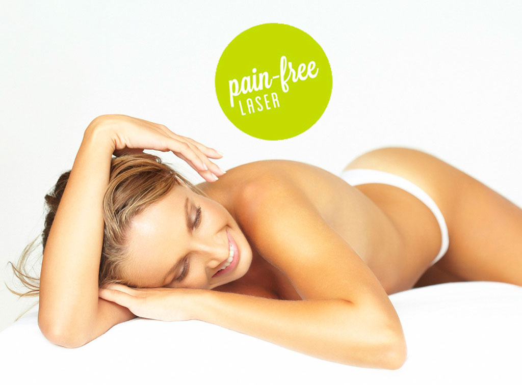pain-free laser hair removal