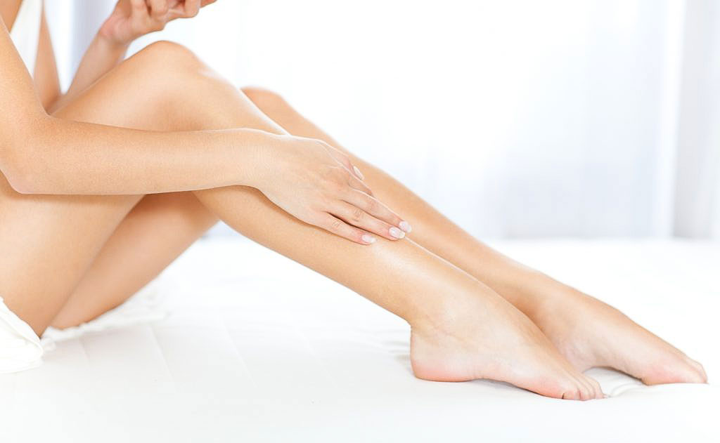 laser epilation hair removal legs