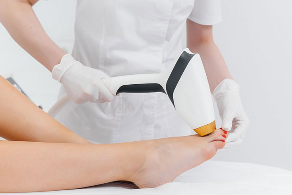 laser hair removal with modern equipment