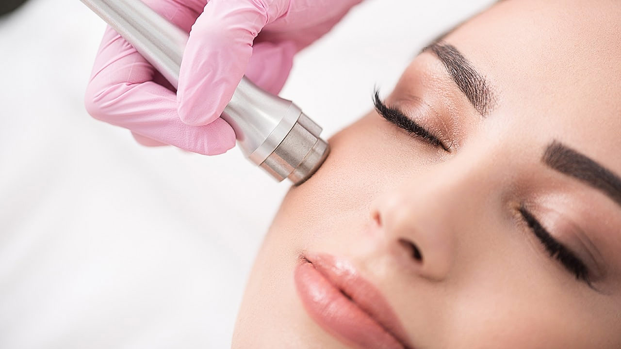 microdermabrasion cleaning