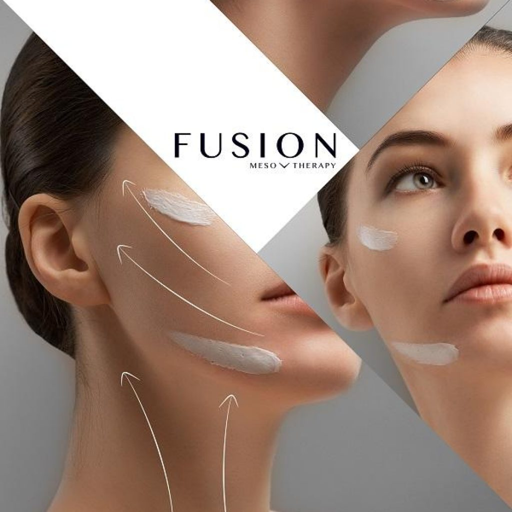 Fusion Fractional Mesotherapy for face and neck