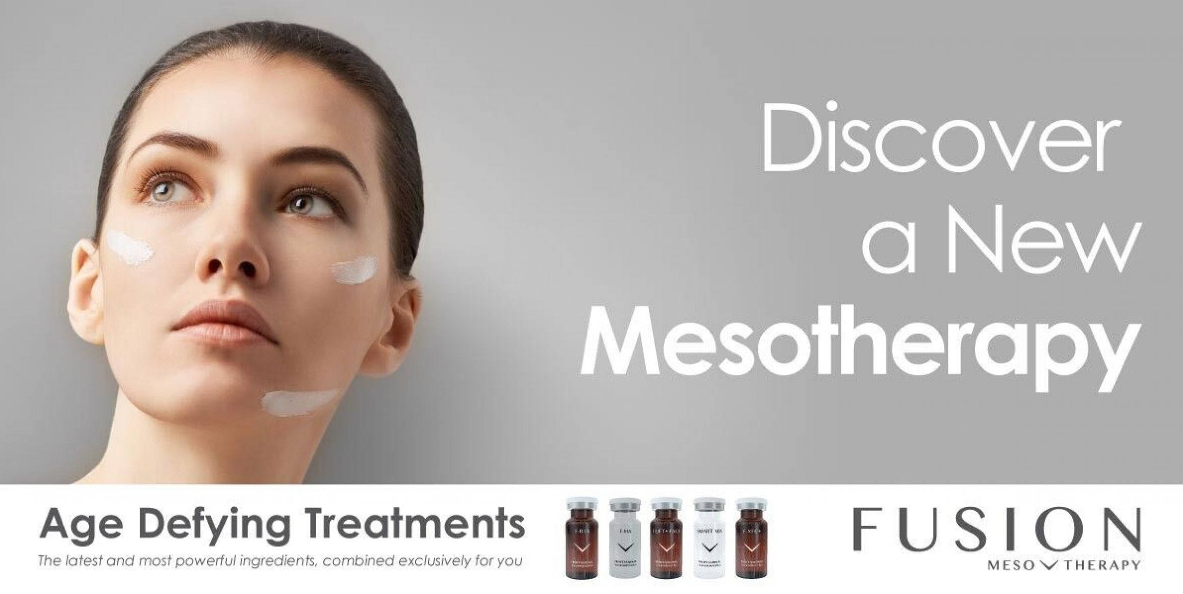 Fusion Mesotherapy combined with collagen stimulation