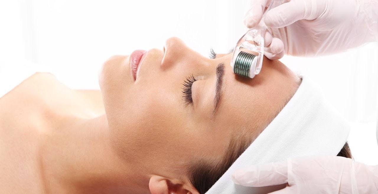 derma roller facial therapy