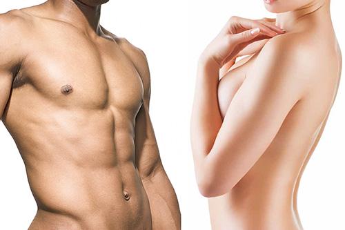 Full body laser hair removal service