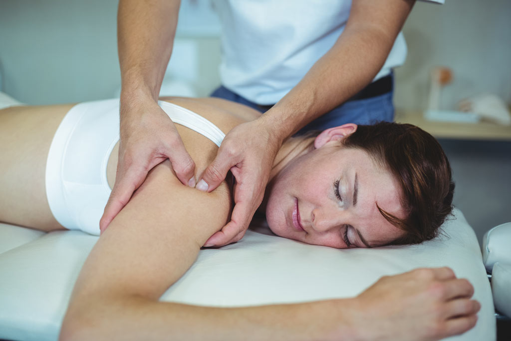 Osteopathic Treament for shoulder pain