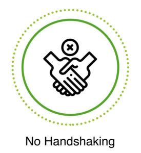 covid19 no handshaking