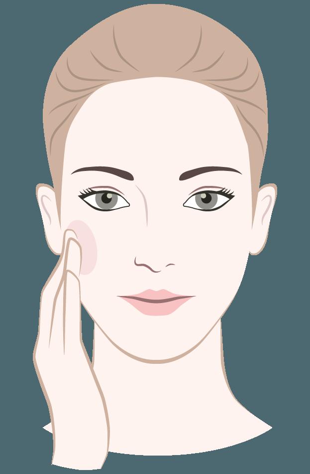 dermaroller mask application