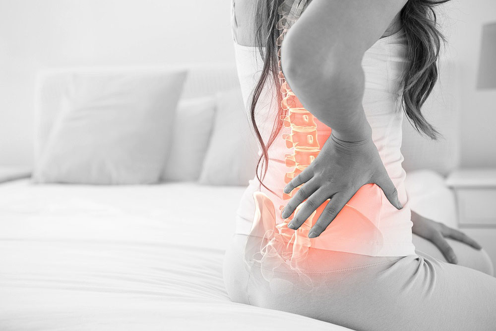 female back pain osteopath