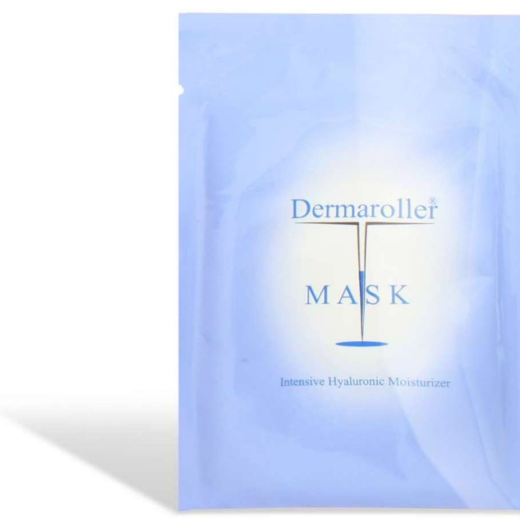 Dermaroller mask intensively supplies the skin with new moisture