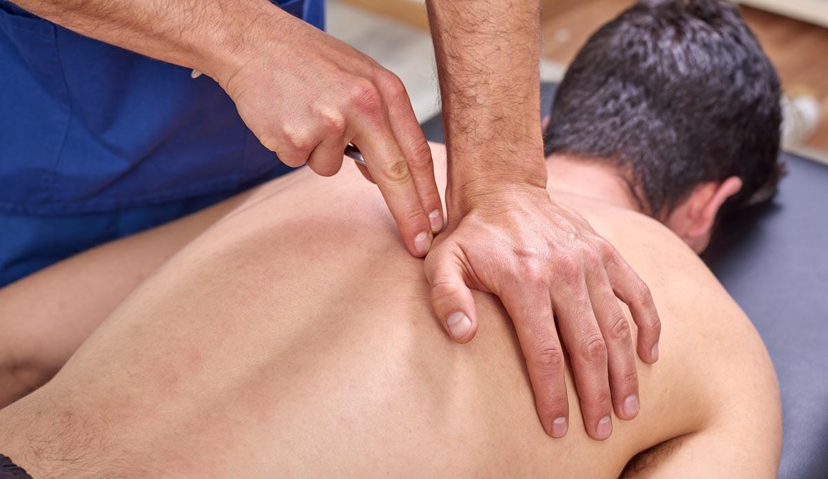 Osteopathic back Massage