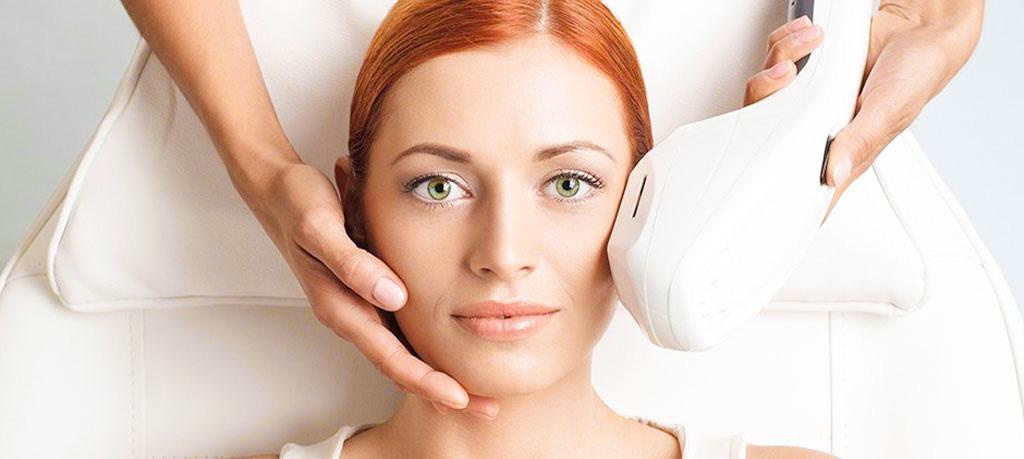 IPL Photofacial skin rejuvenation