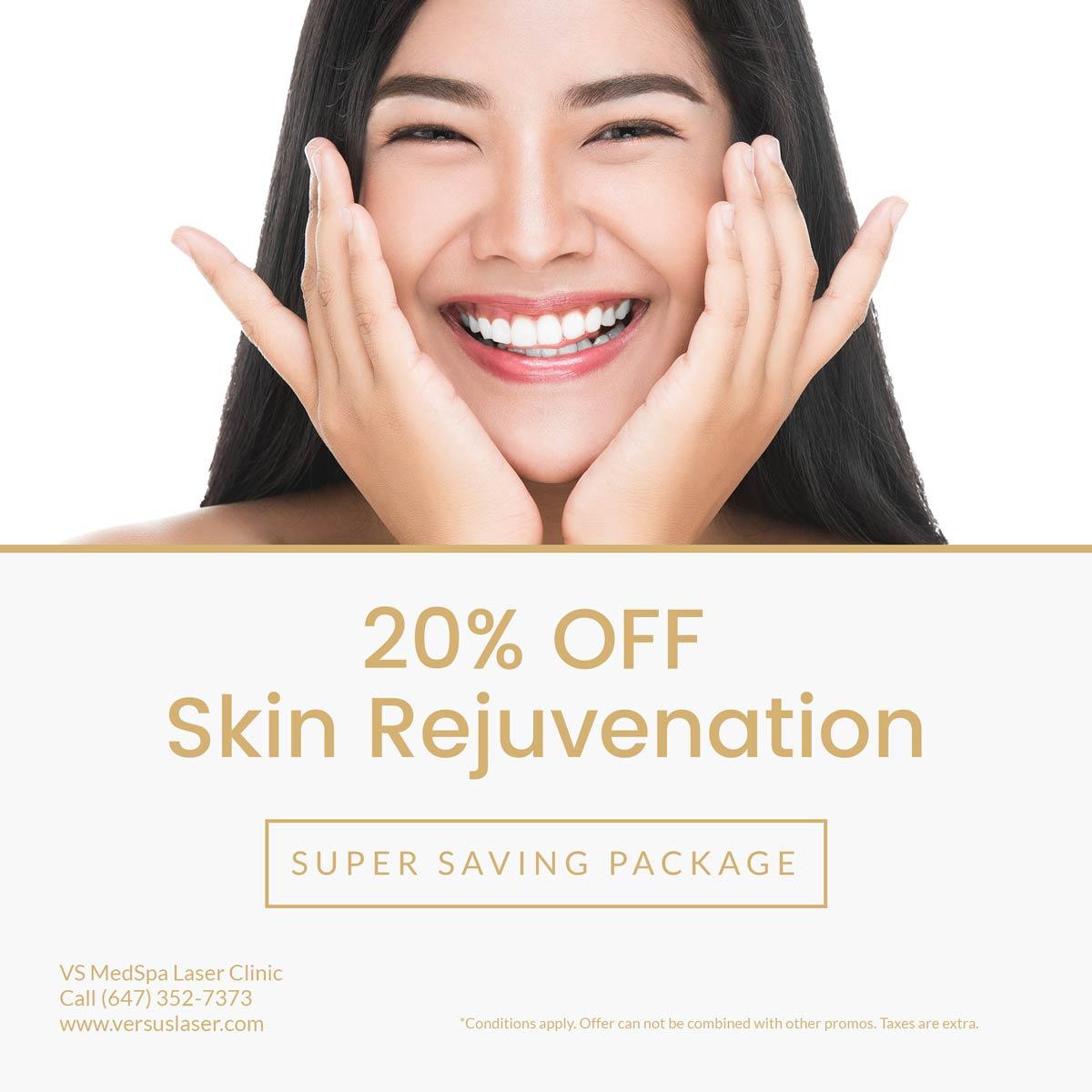 skin rejuvenation treatments sale