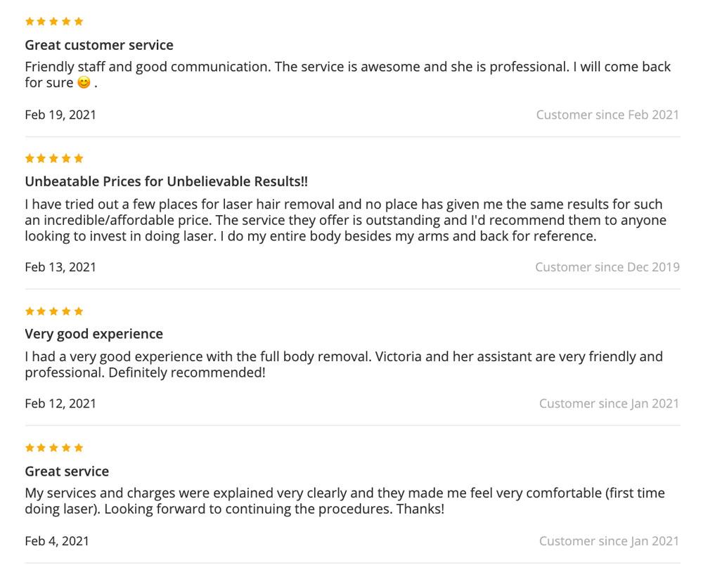 reviews vs medspa clinic