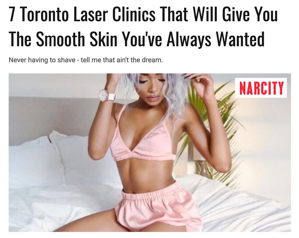 Best Laser Hair Removal in Toronto