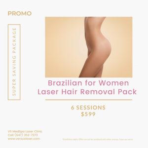 Brazilian for women package